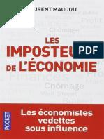 EBOOK Les Imposteurs de lEconom - Laurent Mauduit.pdf