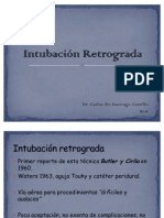 Intubación Retrograda