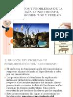 Fundamentos y Problemas de La Epistemología