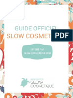 Guide Officiel Slow Cosmetique