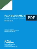 Plan Belgrano Salta Informe Marzo 2017
