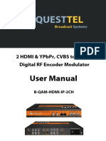 B-QAM-HDMI-IP-2CH - 2Ch HDMI QAM/ATSC/DVB-C Modulator with MPEG-2/H.264 Encoding and IPTV