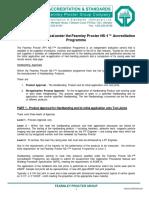 41cVK Fearnley Procter NS-1 Hardbanding Approvals an Ove