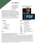 Gayatri Chakravorty Spivak - Wikipedia