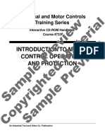 733-CDR Introduction to Motor Control Operations and Protection