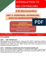 UNIT-I v 8-Bit Controller Peripheral Interfacing