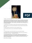 A Message - Fr. Paul Kaiparambadan