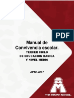 Manual de Convivencia Escolar Nivel Medio