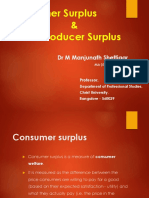 ECONOMICS - Consumer Surplus & Producer Surplus