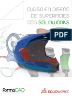 Curso en Diseño de Superficies Con Solidworks