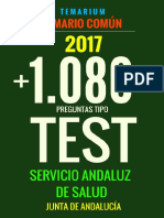 Muestra Libro Test Temario Comun Sas 2017