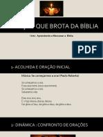A ORAÇÃO QUE BROTA DA BÍBLIA.ppt
