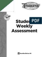 Treasures Grade 2 Weekly Assessment   Helen Keller   Test
