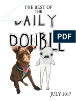 Daily Double, Volume 48A, Issue X (the Best of, July 2017)