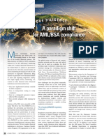 Redefining Due Diligence a Paradigm Shift for AML BSA Compliance