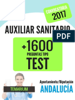 Muestra Libro Test Auxiliar Sanitario 2017 Andalucía