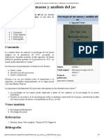 Psicología de Las Masas y Análisis Del Yo - Wikipedia, La Enciclopedia Libre