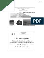 Aula 07 - Parte II - Variação Direcional de k e Força de Percolação.