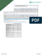 Plataforma de Homologación - Perfil Empresarial 2017.