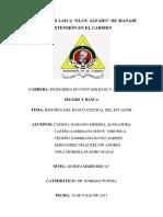 Historia Del Banco Central Del Ecuador