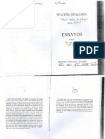 Walter Benjamin - Tesis Sobre La Filosofía de La Historia - Filosofía