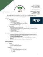 Protocol Artroscopie Sold Abord Anterior