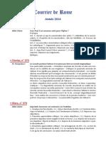 Gleize Fsspx vs Basile Courrier de Rome 2014_cdr_complet