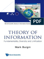 Mark Burgin-Theory of Information (2009)