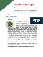 Historia de La Zoología Eras Geologicas y r. Zoogeograficas ... Imprimir (1)