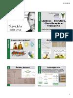 AULA 07 - Lipideos - Estrutura%2c Classificação e Transporte %5bModo de Compatibilidade%5d2