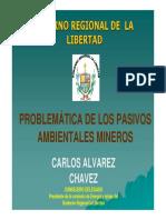 Problematica de Los Pasivos Ambientales Mineros