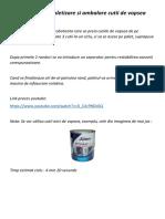 Aplicatie de Paletizare Si Ambalare Cutii de Vopsea