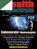 August Edition of Health Spectrum, Monthly Health Magazine