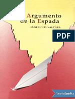 El Argumento de La Espada - Eusebio Ruvalcaba