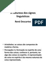 A Natureza Dos Signos Linguisticos Descartes