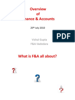 F&a - Overview
