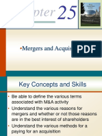 Chapter 25 Mergers and Acquisitions