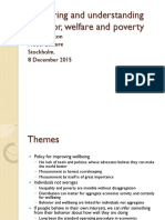 Measuring and Understanding Behavior, Welfare, And Poverty