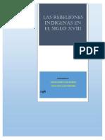 Monografia de Las Rebeliones Indigenas