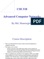 Lecture 1 Introduction Advanced Computer Networks