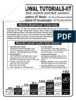 Bakliwal Tutorials Basic & Acce Leaflet 2018 on Spot
