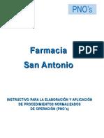 6.Instructivo Para PNO's Farmacia San a Antonio