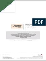 Propuesta Metodológica Para El Análisis de Las Relaciones Entre Discurso e Identidad
