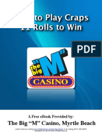 How to Play Craps - 11 Rolls to Win