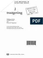 ILO Social Budgeting