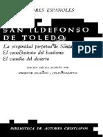San Idelfonso de Toledo - La Virginidad Perpetua de Santa Maria Contra Tres Infieles (Scan)