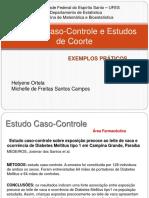 Estudos Caso-Controle e Estudos de Coorte