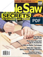 Table Saw Secrets, Tips, Techniques, Plans & Projects - Woodsmith Publication 2010.pdf