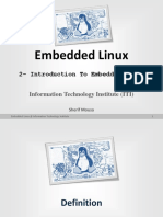 002 Embedded Linux Introduction