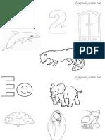 Pagini Pentru Colorat Imagini Pentru Literele d e f